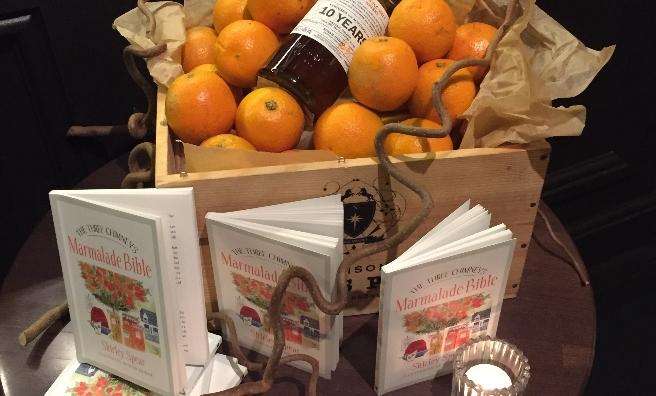 Shirley's latest culinary masterpiece - The Three Chimneys Marmalade Bible