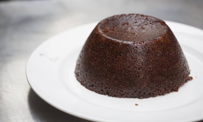 Perfection on a plate - Three Chimneys Hot Marmalade Pudding