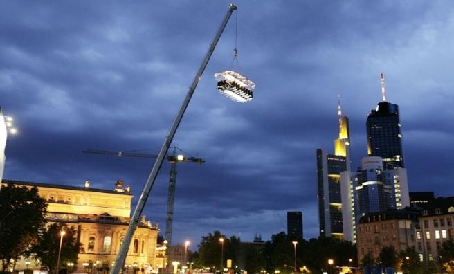 Frankfurt in the Sky.