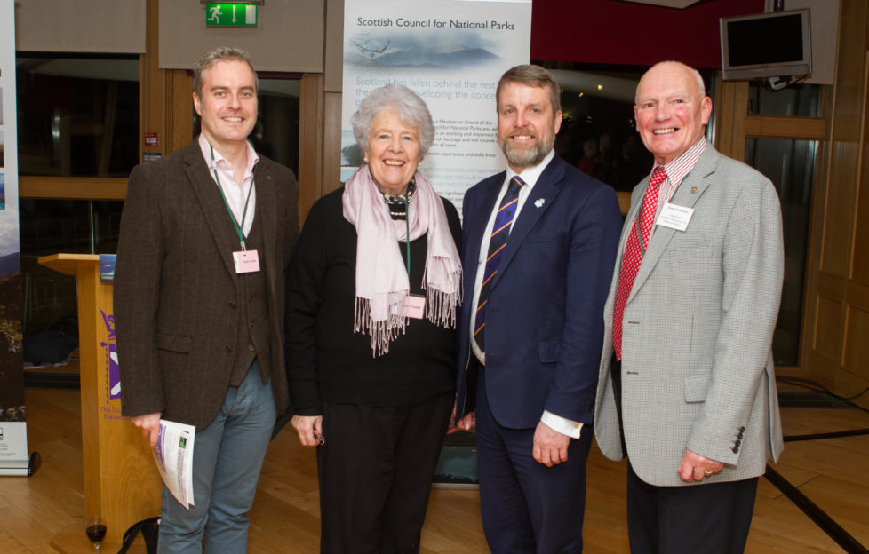 Scots Mag Editor, Robert, chatted to Dame Barbara Kelly, Finlay Carson MSP and Ross Anderson at the event.