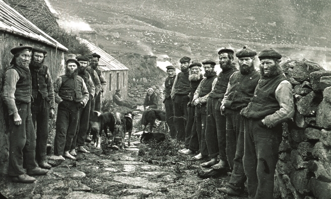 St Kilda Parliament on the island of Hirta, St Kilda. Pic courtesy of NTS