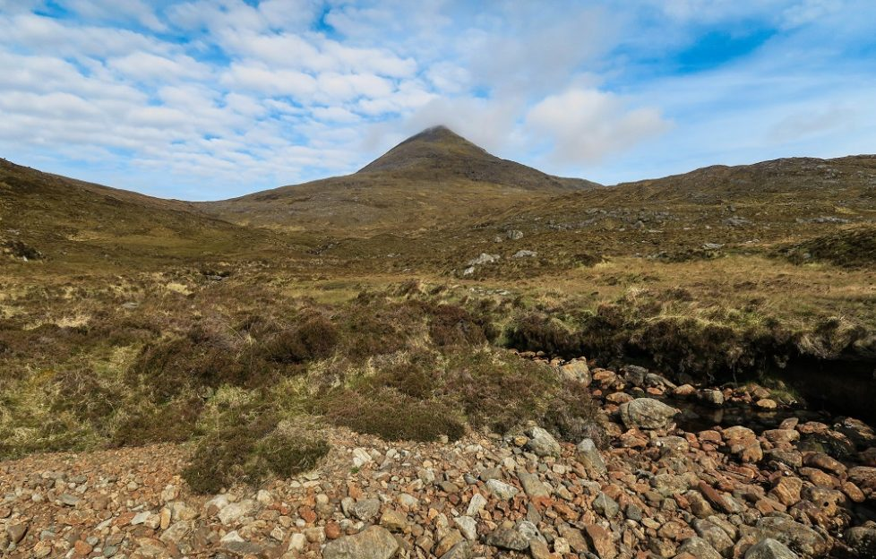 Clisham is the highest mountain in the Outer Hebrides, and provides a great vantage point. Pic: Neil Robertson