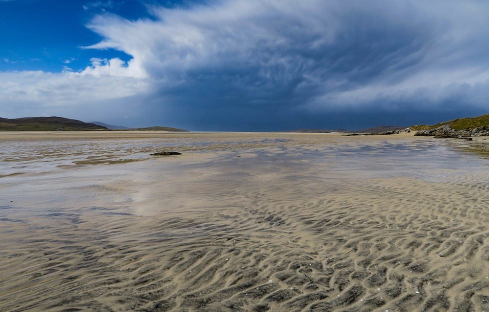 Luskentyre Sands is one of the largest and most spectacular beaches on Harris. Pic: Neil Robertson