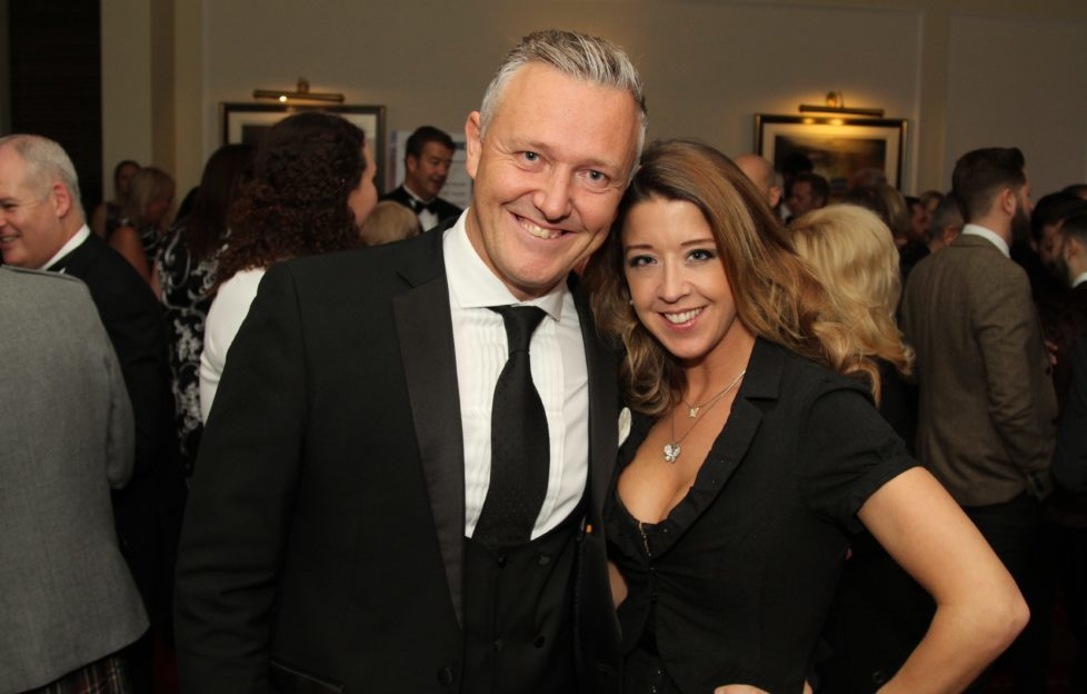 Paul Warren, CEO and Founder of SOLA with Sarah Paul, Operations Manager of Paramount Creative at last year's Awards.