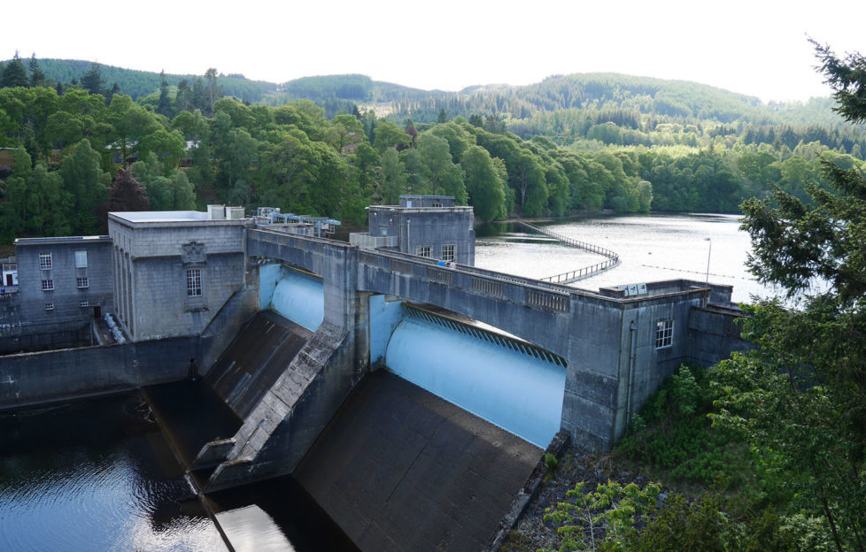 The theatre provides amazing views over the impressive dam. Pic: Patricia Cuni