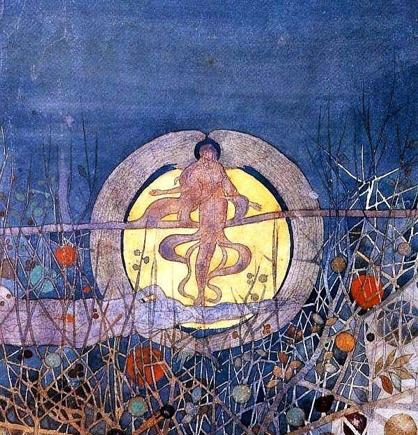 The Harvest Moon by Charles Rennie Mackintosh will be on display at the Fergusson Gallery.
