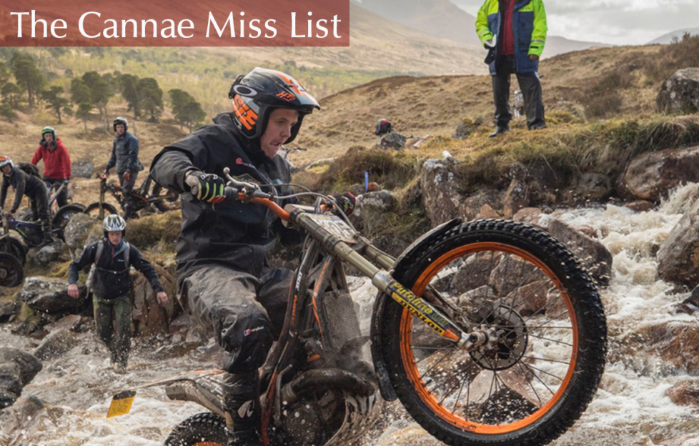 Events Scotland. The Cannae Miss List, April - May