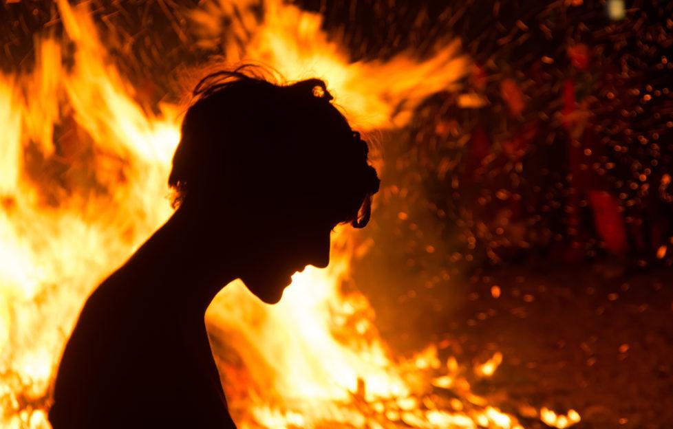 Beltane Fire Festival. Copyright Scott Miller for Beltane Fire Society.