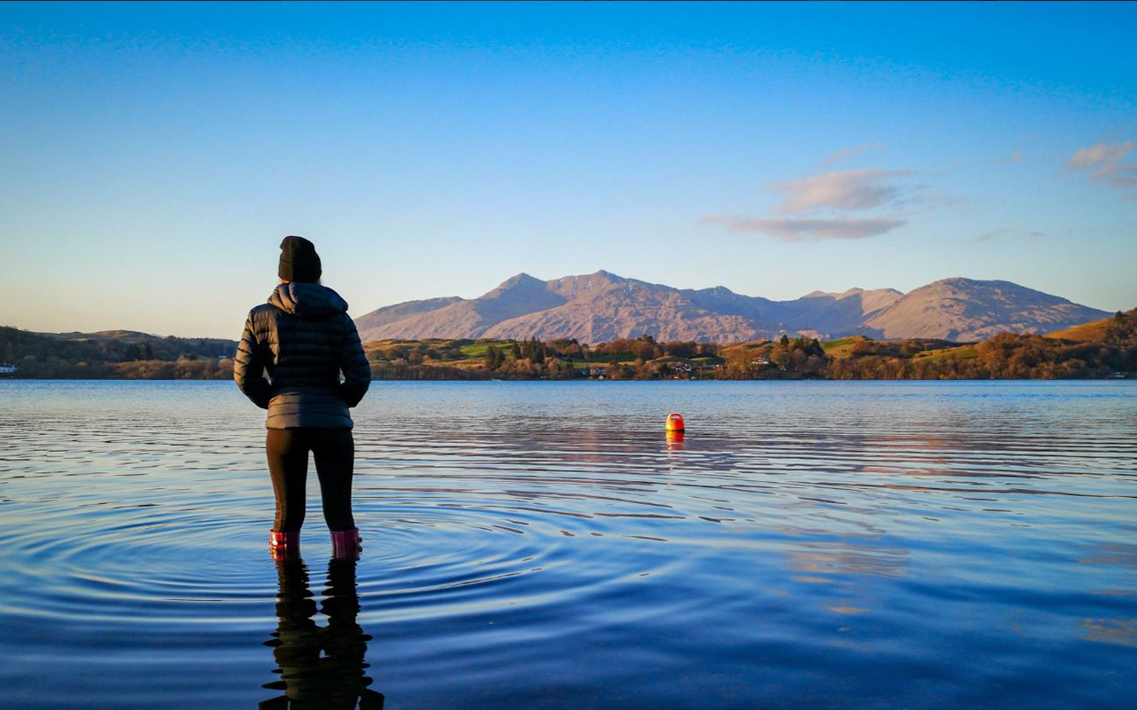 """Loch Awe on a spring morning."" MrH, @MrHackney on Twitter."