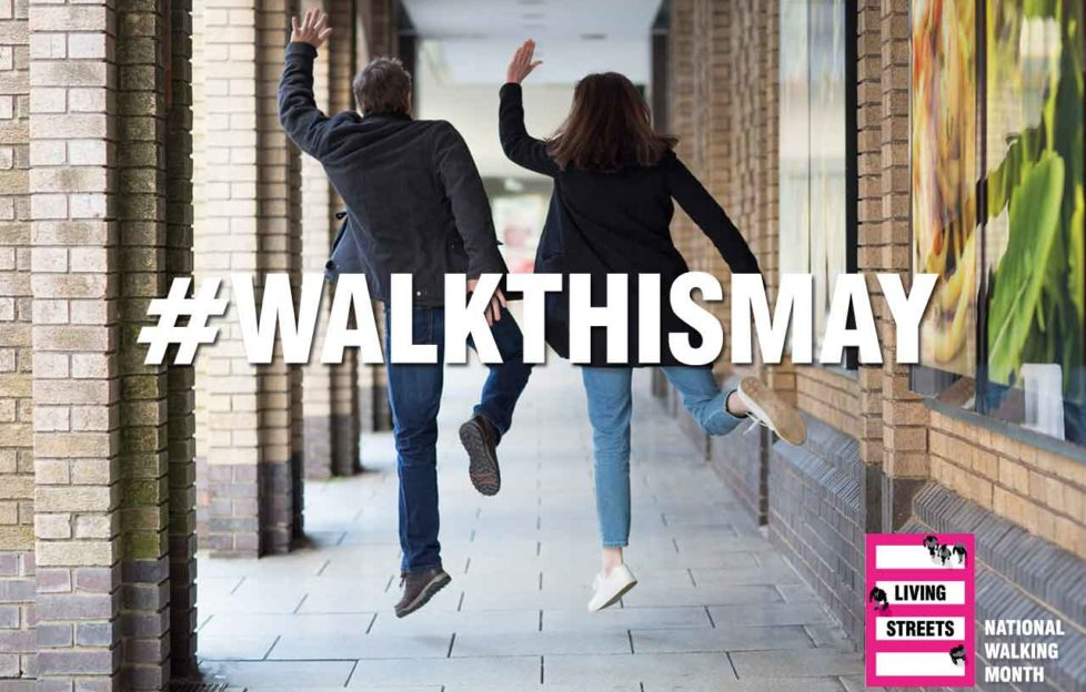 Living Streets launch national walking campaign, Walk this May