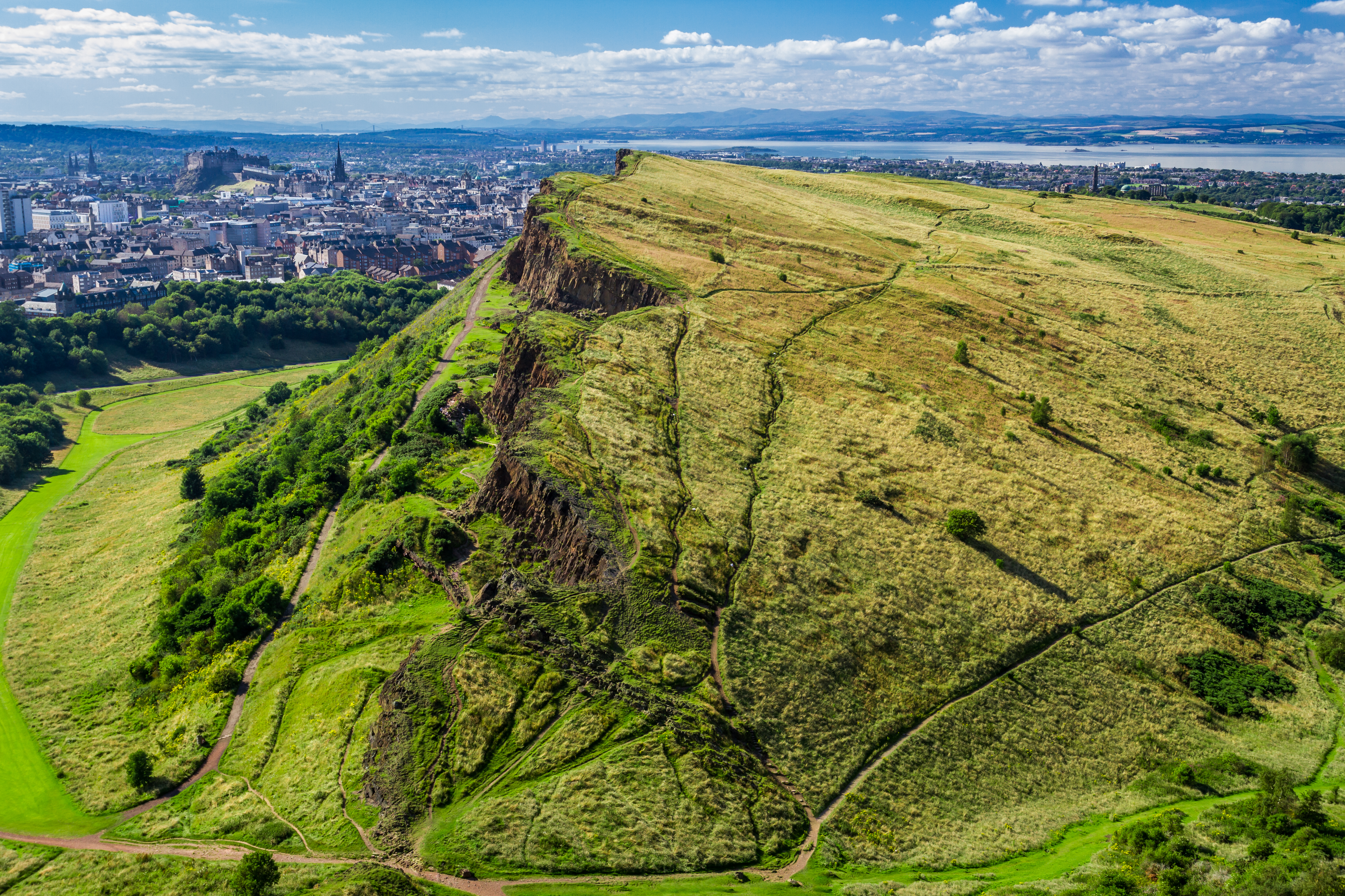 Arthur's seat in Edinburgh is a great choice for walk this May!