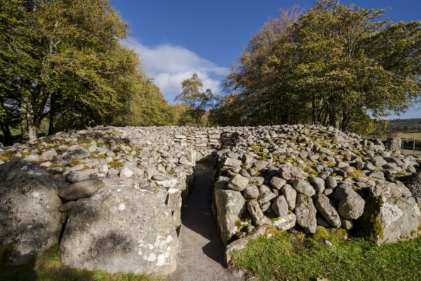 Entrance to the Cairn ring. Pic credit: Shutterstock.