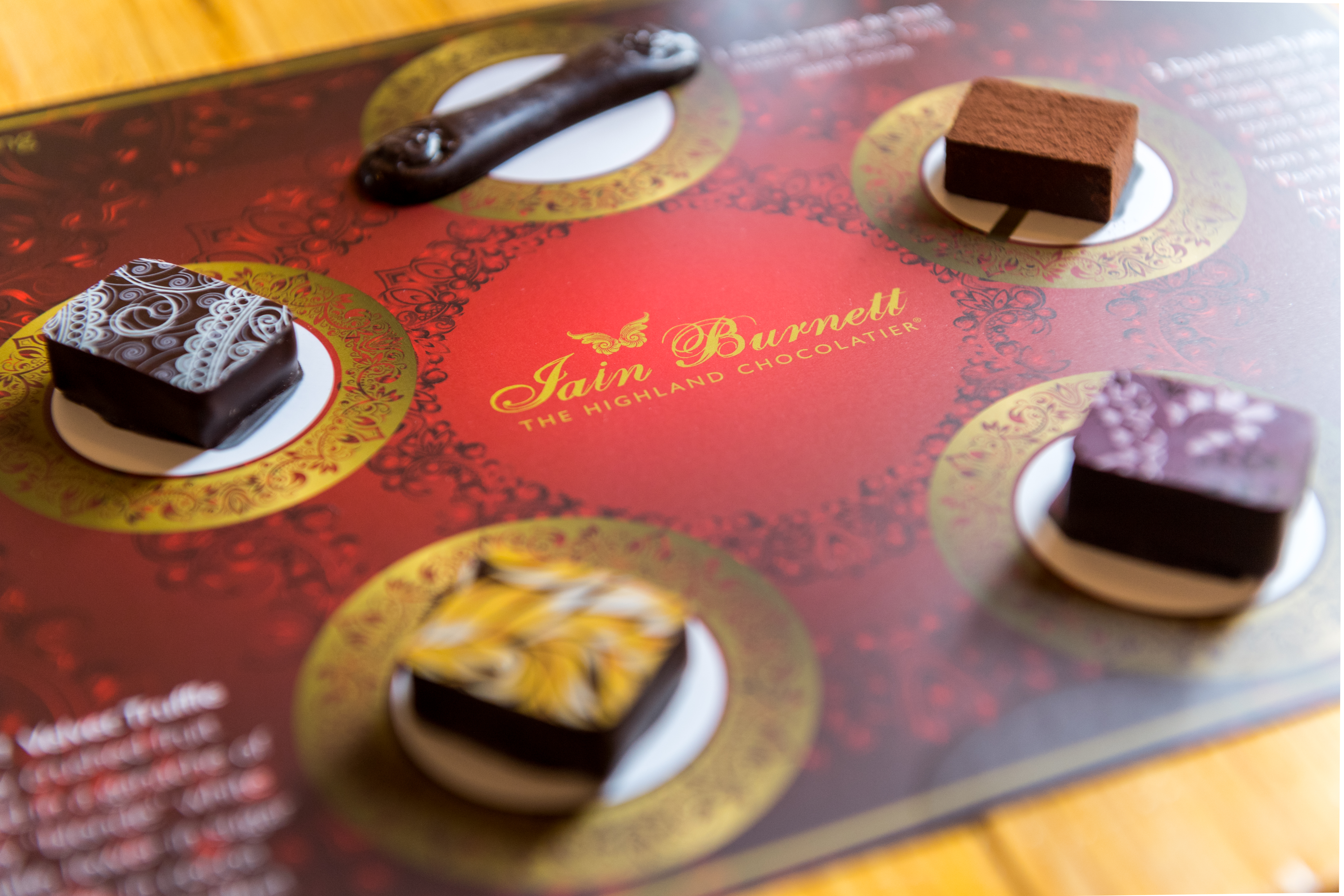 Chocolate Tasting Flights.