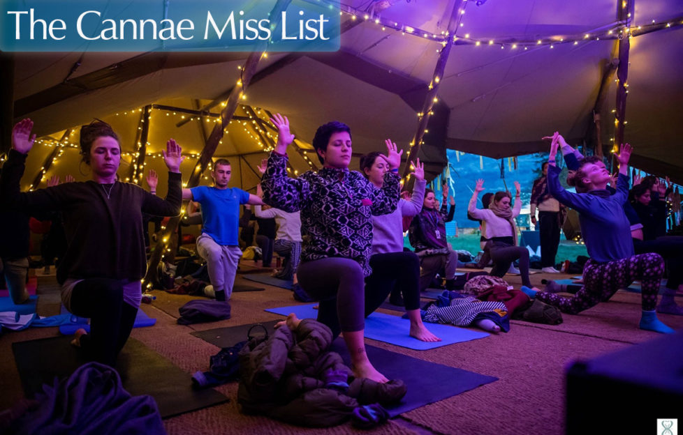 Yoga at Scapa Fest.Events Scotland. Pic credit: www.arcantide.com