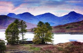 Loch Arklet At Dusk