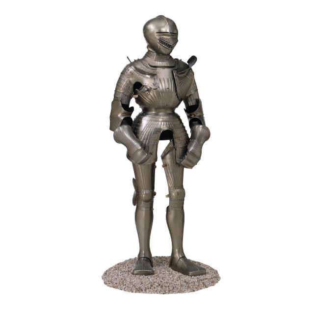 German Armour, 1500-10. Kelvingrove Museum.