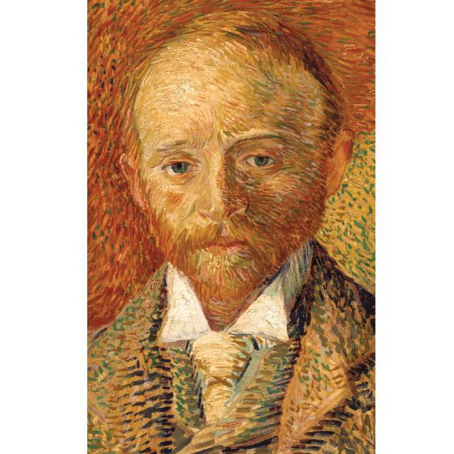 Van Gogh Portrait Of Alexander Reid. Kelvingrove Museum