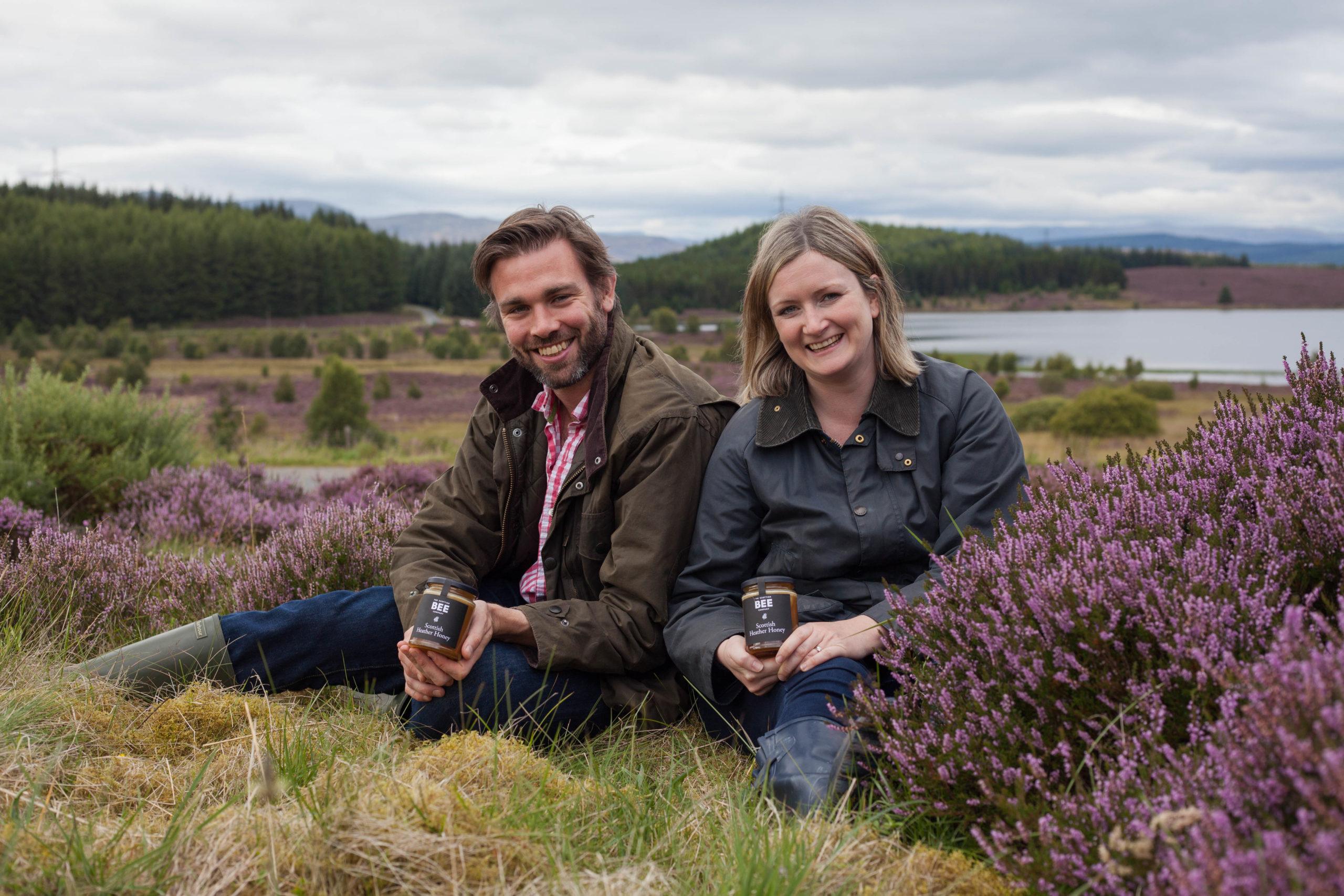 Scottish Bee Company founders