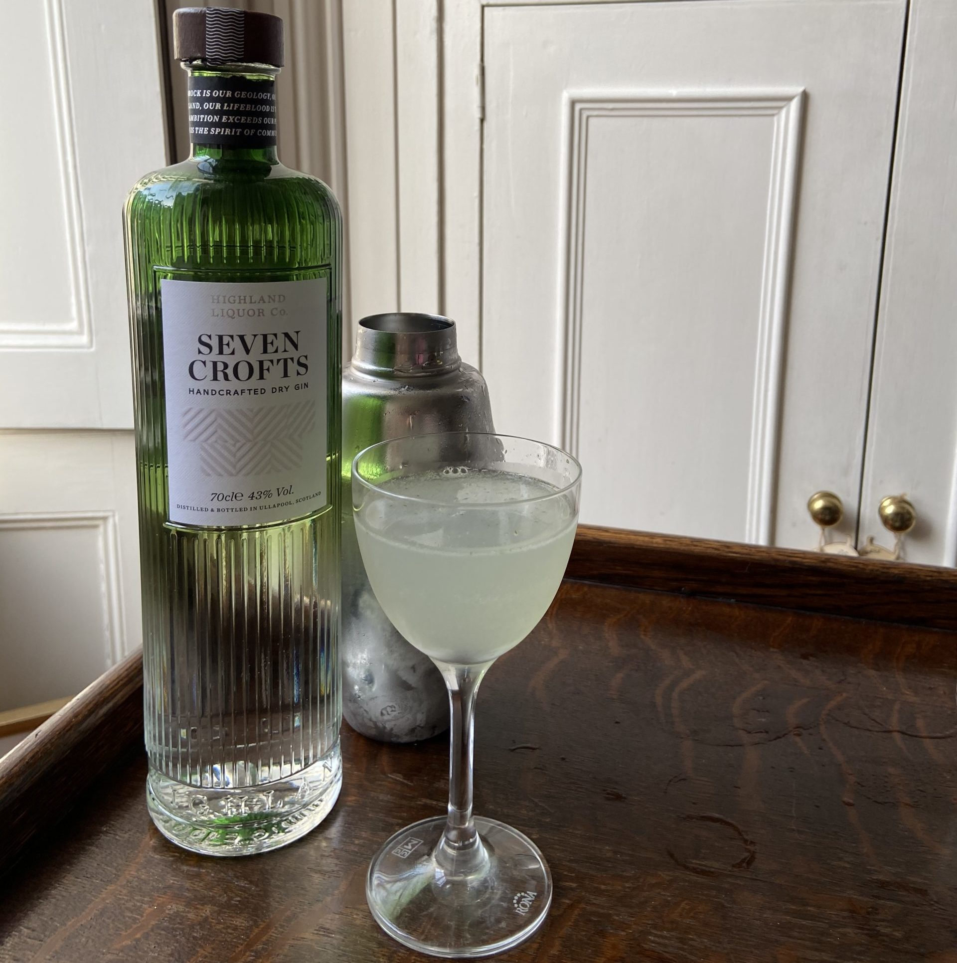Seven crofts gin cocktail