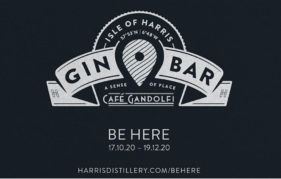 Isle of Harris Gin bar