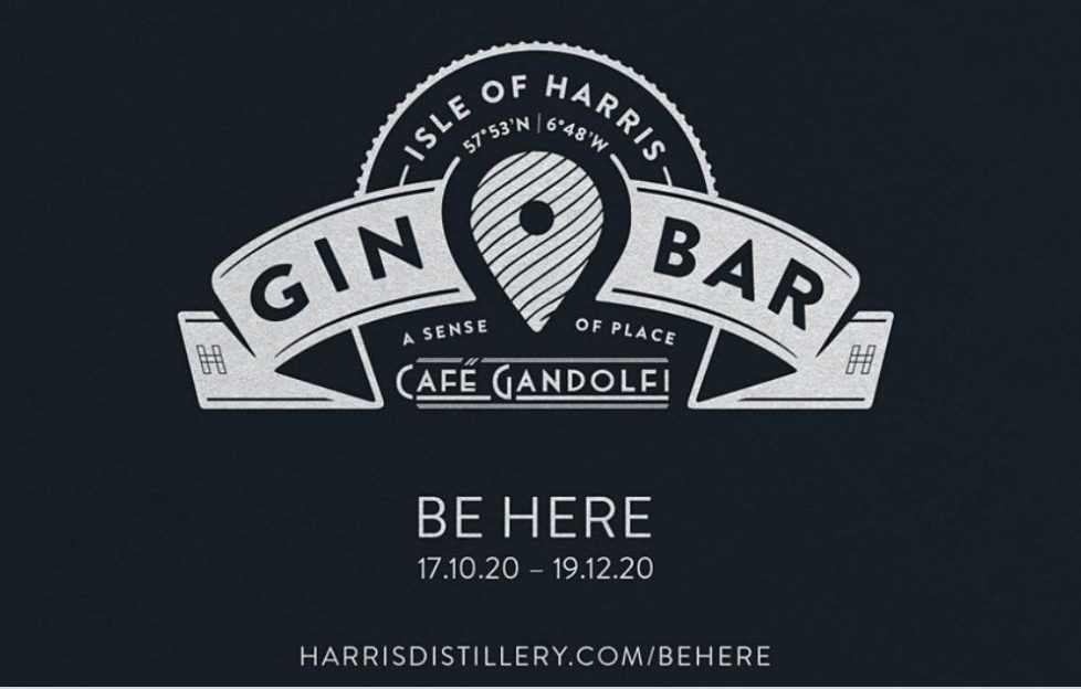 Isle of Harris Gin bar