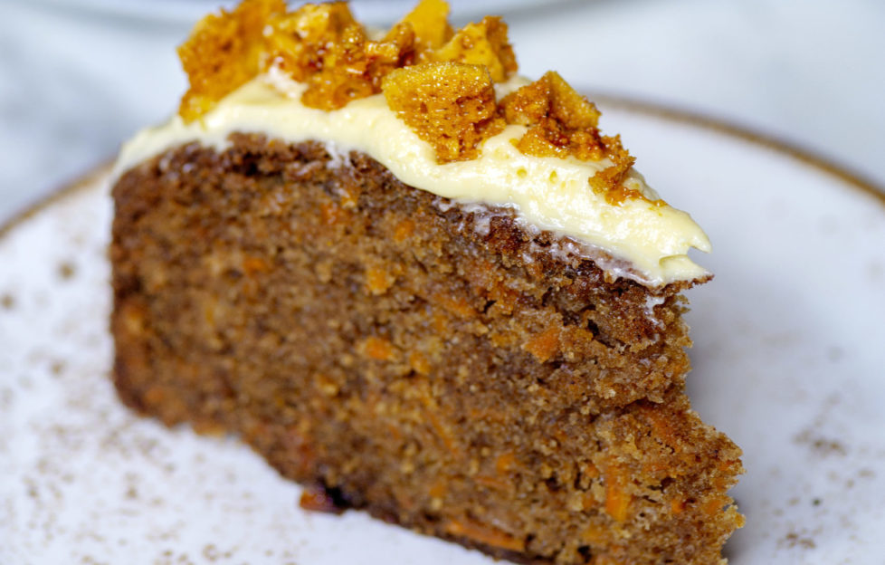 Honeycomb Carrot Cake