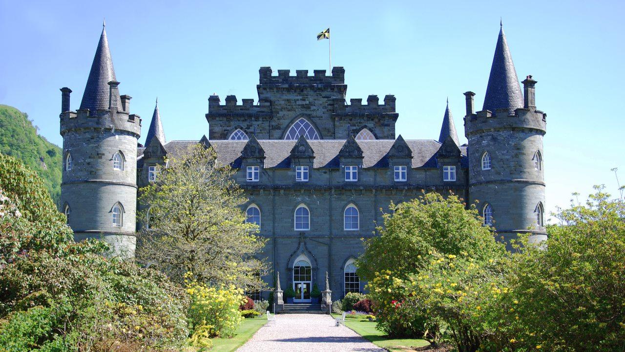 Inveraray Castle.