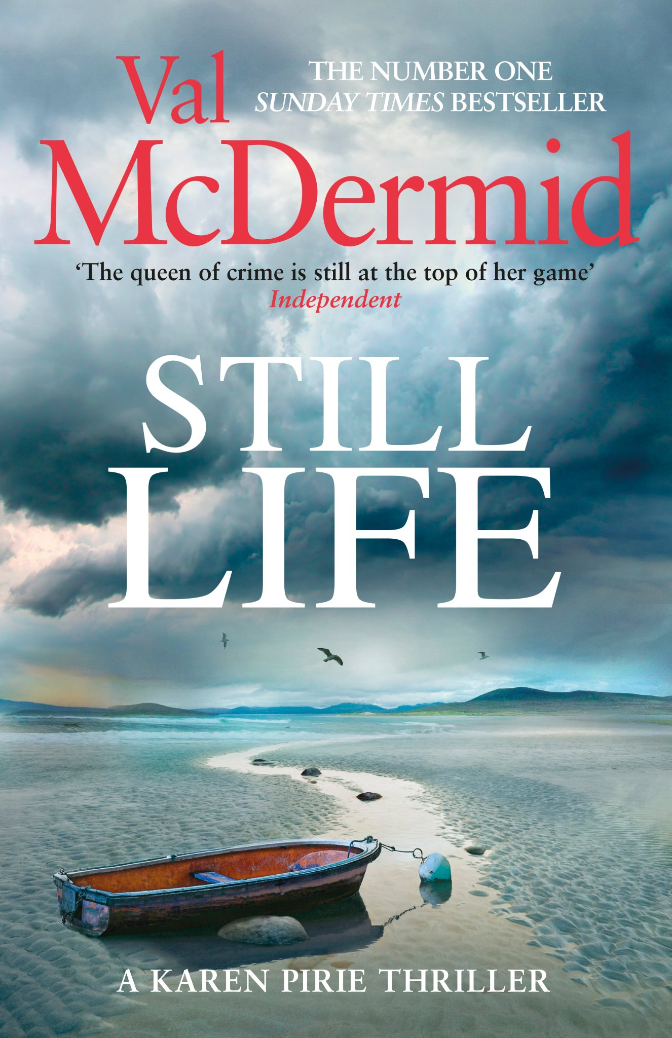 Still Life by Val McDermid. February release.