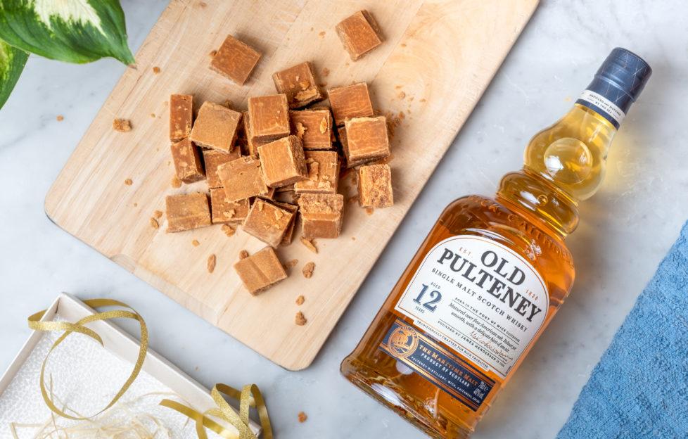 whisky fudge