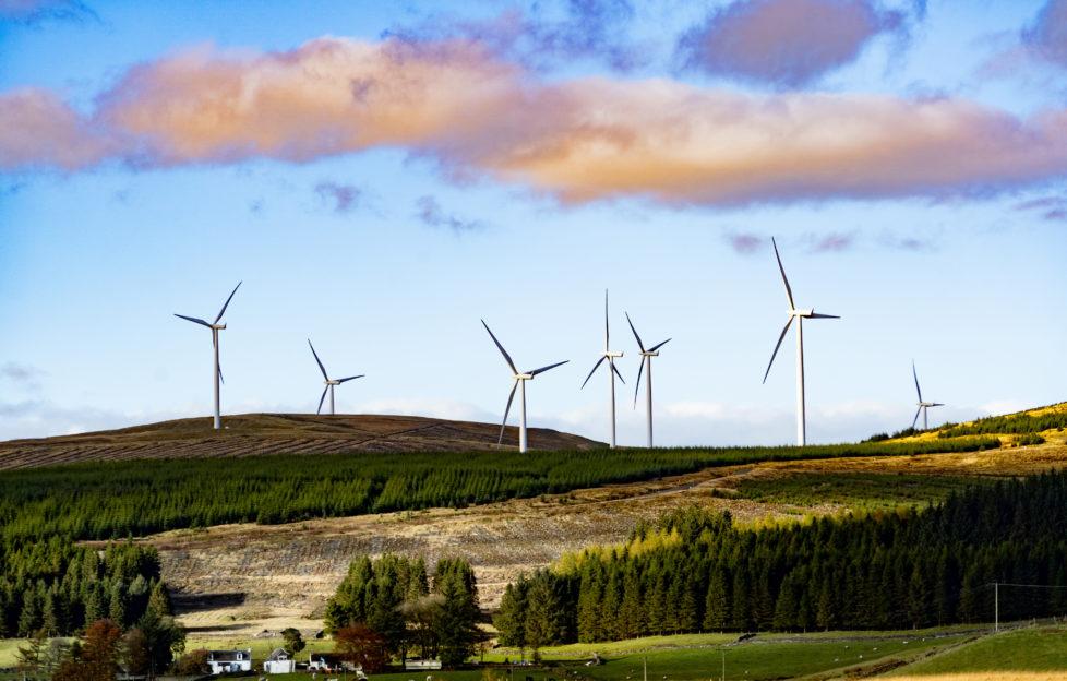windfarm in Scotland