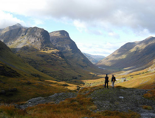 Glencoe, one of the National Trust's top ten sites to top 10,000 steps. Photo by Mike Bolam