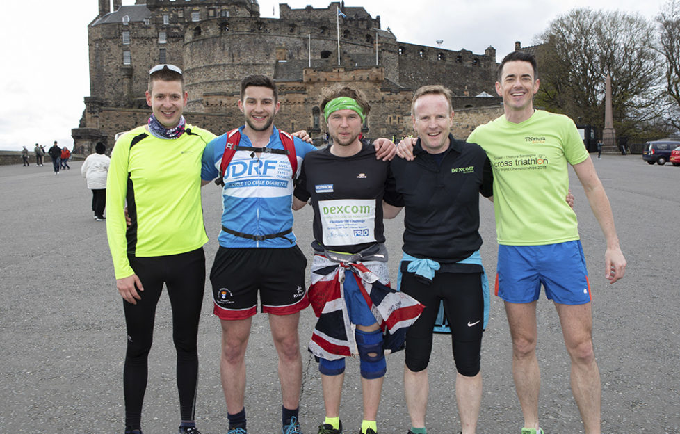 Gavin Griffiths marathon runner
