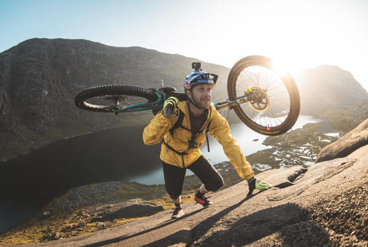 Cyclist Danny MacAskill on Skye