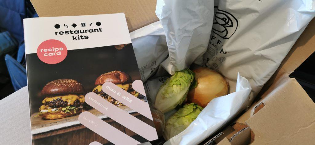 """Mac & Wild's """"Venimoo"""" burger"""