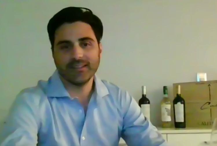Rodrigo Zamorano from Vina Caliterra