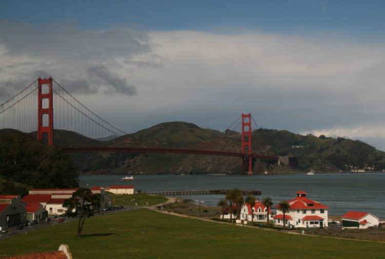 The Golden Gate Bridge by Peter Ranscombe