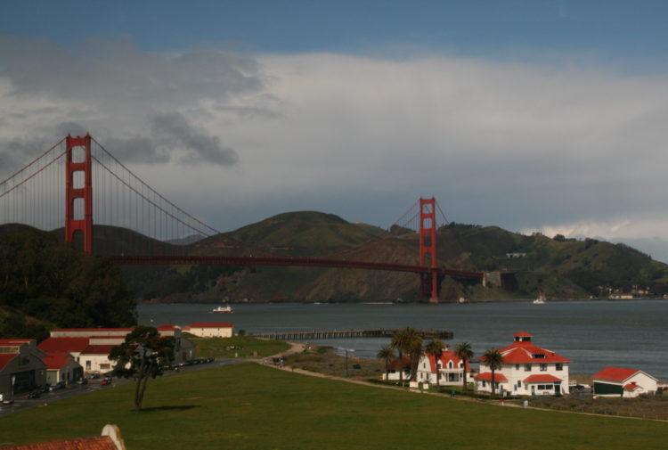 The Golden Gate Bridge by Peter Ranscombe