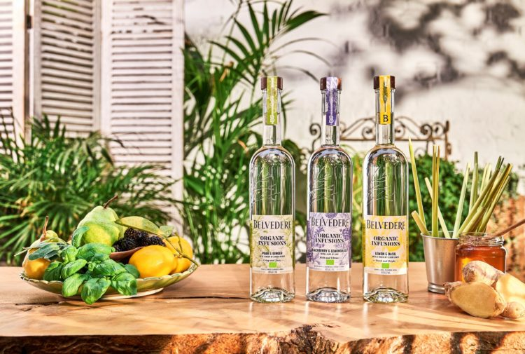 Belvedere vodka launches Organic Infusions