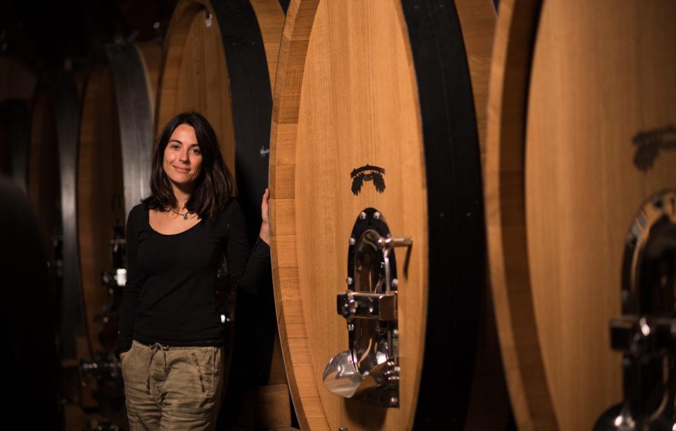 Chile - Emiliana winemaker Noelia Orts