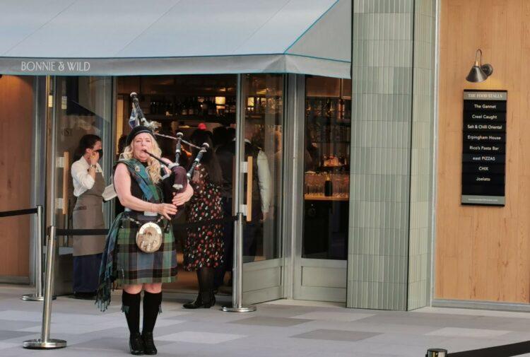Bonnie & Wild food hall in Edinburgh