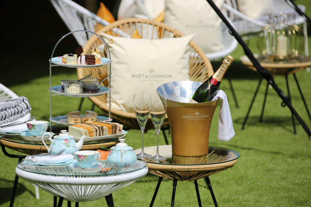 Moet afternoon tea at the Fairmont St Andrews hotel