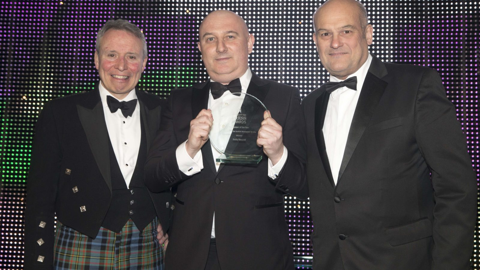 Newspaper of the Year Winner Daily Record