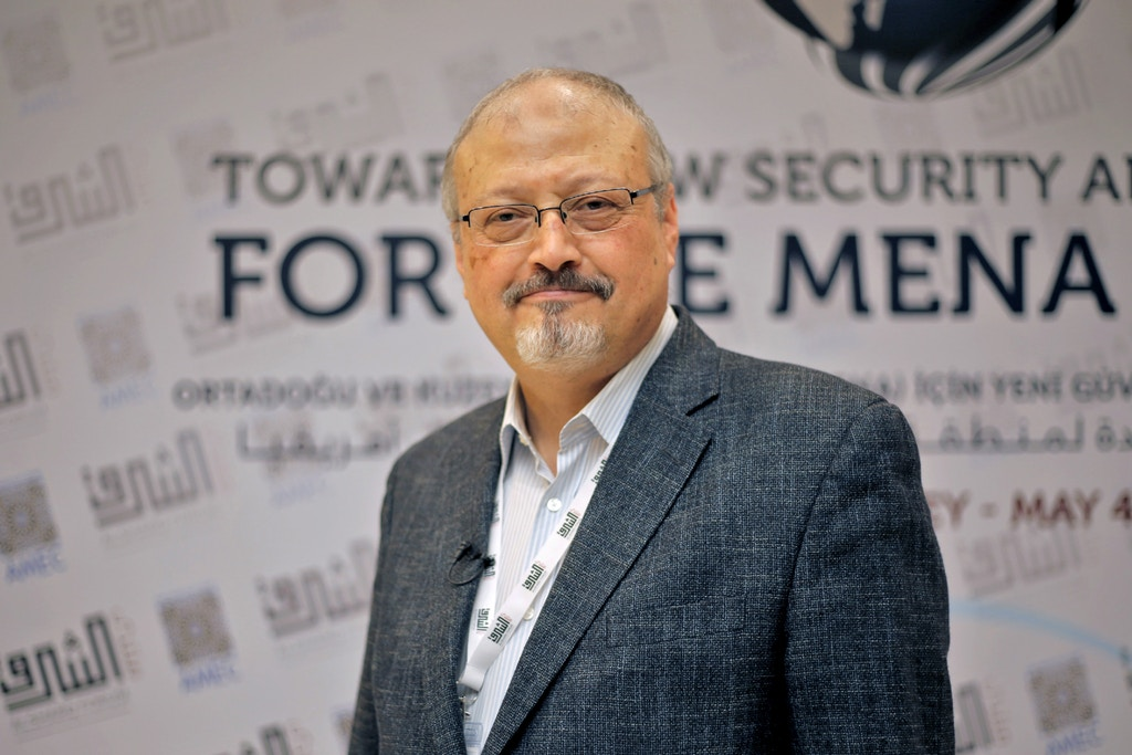 Featured Image for Emotional tribute to murdered Saudi journalist Khashoggi
