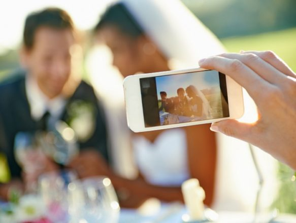 Featured Image for Sharing your wedding on social media? Here's the rules...