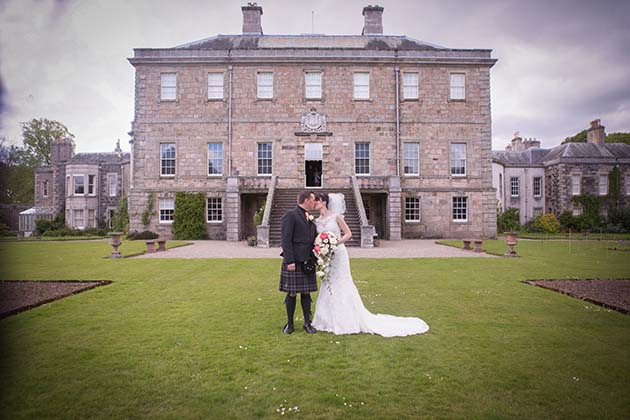 Featured Image for Ivory and Coral Aberdeen Wedding at Haddo House, Ellon