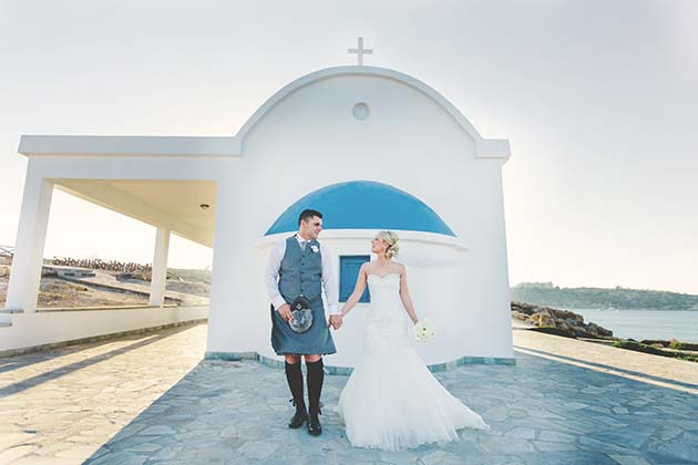 Featured Image for Beautifully Intimate Cypriot Wedding in Protaras, Cyprus