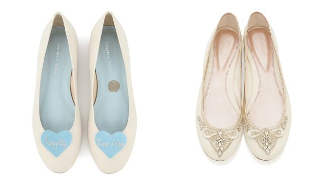 Featured Image for Six Reasons To Wear Flat Shoes On Your Wedding Day