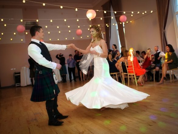 Featured Image for Personal, Relaxed Two-Day Wedding at Killearn Village Hall