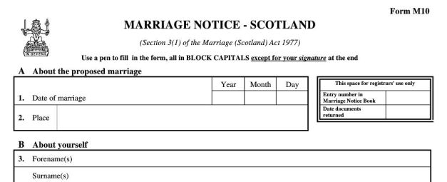 Featured Image for Amendment to the Marriage and Civil Partnership Act