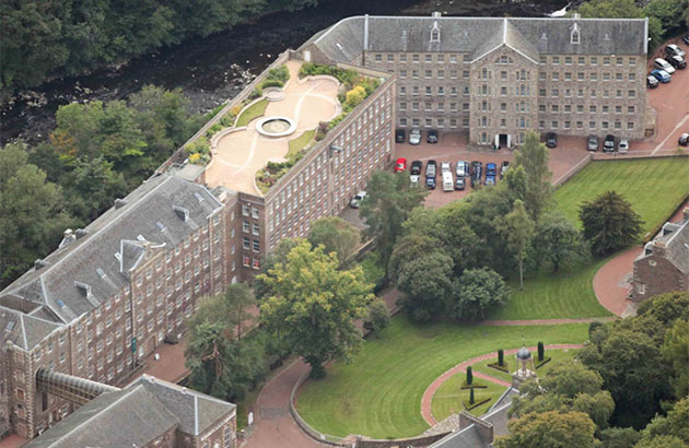 Featured Image for New Lanark Mill Hotel